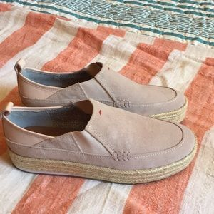Brand new suede loafers